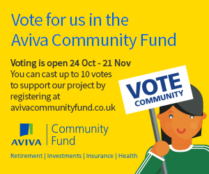 Aviva community fund vote